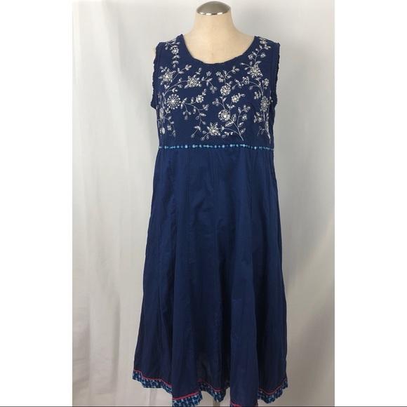 418a49eacc2b Vintage Dresses | Biba Brand Maxi Dress Indian Gauze | Poshmark